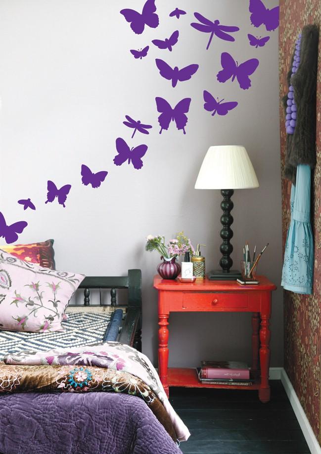 Lbutterflies-violet
