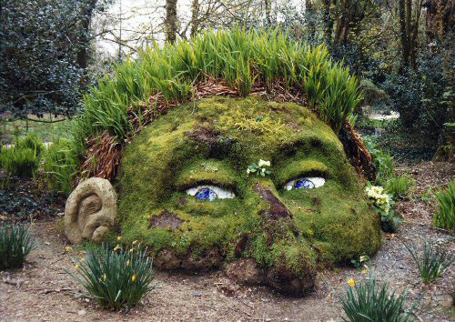 Belle blog diy quick tip if you have any large stones lying around your garden you can easily liven them up with moss you can even try your hand at moss graffiti on an workwithnaturefo